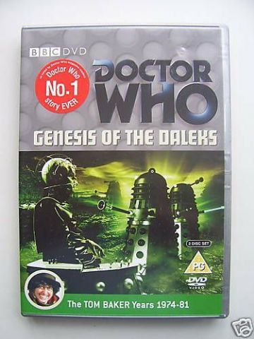 Doctor Who - The Genesis Of The Daleks (DVD, 2006, 2-Disc Set) - Tom Baker